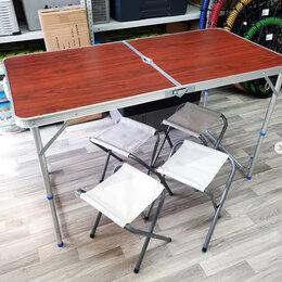 Походная мебель - Стол складной туристический + 4 стула, 0