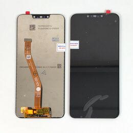 Дисплеи и тачскрины - Дисплей для Huawei Nova 3i (INE-LX1) черный, 0