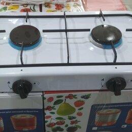 Плиты и варочные панели - Плита газовая настольная 2-х конфорочная (для баллонов 5,12,27,50 л) , 0