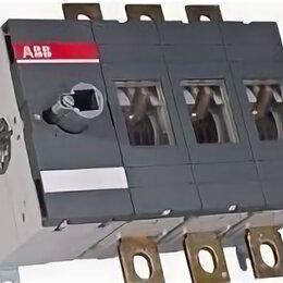 Защитная автоматика - Рубильник Реверсивный ABB OT400E03С (Новый), 0