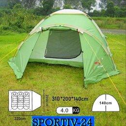 Палатки - Палатка для туристов на 3 места для рыбалки и пикника. Не дорого. , 0