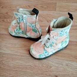 Ботинки - Ботинки демисезонные нат. кожа, р 23, 0