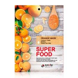 Маски - Тканевая маска EYENLIP Super Food Mask Апельсин, 0
