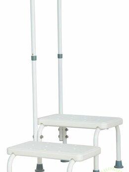 Приборы и аксессуары - Лестница для ванной с опорой SH-1, 0