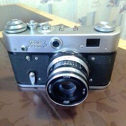 Пленочные фотоаппараты - Фотоаппарат плёночный ,, ФЭД-3,,., 0