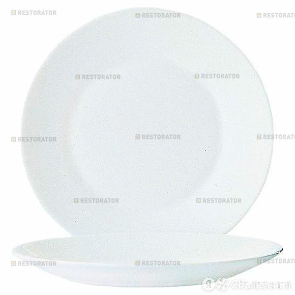 Arcoroc Тарелка обеденная Arcoroc Restaurant 25,2 см по цене 420₽ - Тарелки, фото 0