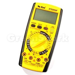 Измерительное оборудование - Мультиметр Ya Xun DT-9205A+ / YX-9205A+ (new), 0
