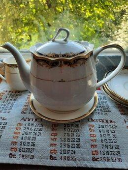 Сервизы и наборы - Японский фарфор, чайник, чашки, 0