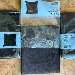 Постельное белье - Наволочка новая коричневая SANELA IKEA, 3шт., 0