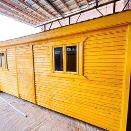Готовые строения - Бытовка деревянная новая 2 окна А-662, 0
