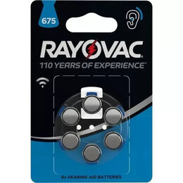 Батарейки - Элемент питания Varta (Германия) Rayovac Acoustic для слуховых апп. (КОД:192814), 0