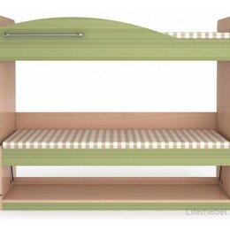 Кровати - Кровать-трансформер 2 Калейдоскоп, Зеленая радуга, 0