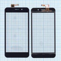 Дисплеи и тачскрины - Сенсорное стекло (тачскрин) для INOI 2 Lite черное, 0