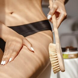 Аксессуары - Щетка для сухого массажа, 0