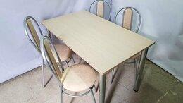 Мебель для кухни - Стол 120х70, хромированные ножки, столешница…, 0