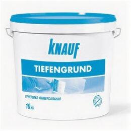 Пропитки - knauf Грунтовка тифенгрунд кнауф 10 л, 0