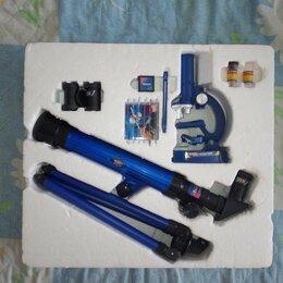 Детские микроскопы и телескопы - Набор телескоп и микроскоп, 0
