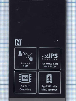 Дисплеи и тачскрины - Модуль (матрица + тачскрин) для LG G3 S D724…, 0