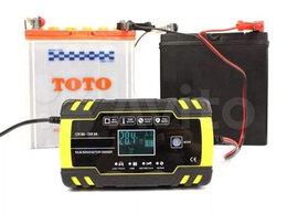 Аккумуляторы и зарядные устройства - Зарядное устр Foxsur для Авто Акб (12V8A, 24V4A), 0