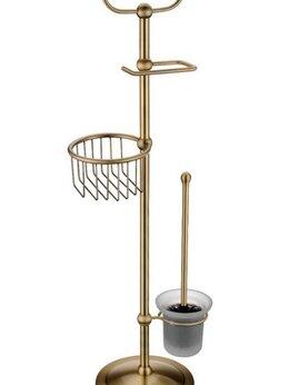 Полки, стойки, этажерки - Стойка в ванную комнату Timo 160185/02 антик, 0