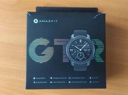 Умные часы и браслеты - Умные Смарт-часы Xiaomi Amazfit GTR Black 42, 0