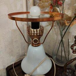 Настольные лампы и светильники - Лампа настольная (основание, без плафона), 0