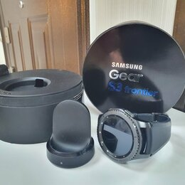 Умные часы и браслеты - Умные часы Samsung Gear S3 Frontier - 46 mm, 0