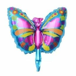 Воздушные шары - Фольгированный шар Бабочка, 0