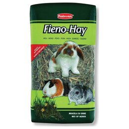 """Сено и наполнители - Padovan Fieno-Hay 1 кг  Сено """"Луговые травы"""" для грызунов и кроликов, 0"""