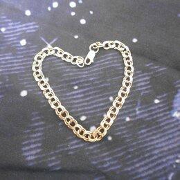 Браслеты - Золотой браслет 585,  длина 18 см, 0