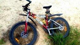 Велосипеды - Отличный кантрийный двухподвес велобайк MarsStar…, 0