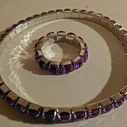 Браслеты - Браслет + кольцо (безразмерное), 0