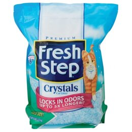 Наполнители для туалетов - Fresh Step Crystals 1,81 кг Силикагелевый…, 0