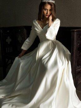 Платья - Свадебное платье цвета айвори, 0