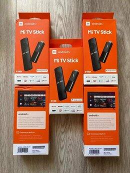 ТВ-приставки и медиаплееры - Smart-TV приставка Xiaomi TV Stick EU, 0