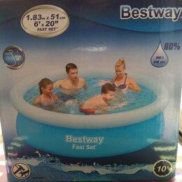 Бассейны - Лот 2 надувной бассейн 183х51 - 100 шт Bestway , 0