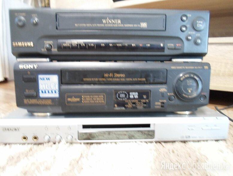 CD/DVD Sony, видео плеер Samsung. по цене 400₽ - DVD и Blu-ray плееры, фото 0