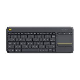 Клавиатуры - Logitech Wireless Touch Keyboard K400 Plus, 0