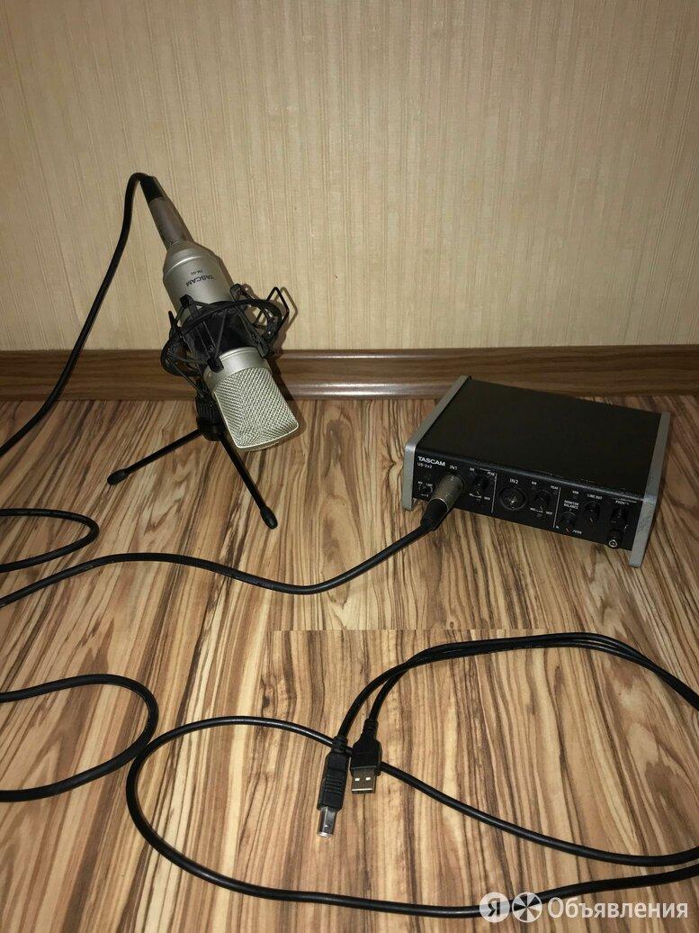 Внешняя звуковая аудиокарта Tascam 2x2 по цене 17500₽ - Звуковые карты, фото 0