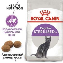Корма  - Royal canin sterilised 2 кг, 0