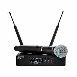 Радиосистемы и радиомикрофоны - SHURE QLXD24E/B58 G51 вокальная радиосистема с…, 0