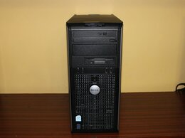 Настольные компьютеры - Фирменный блок Dell OptiPlex 755 (Core 2 Duo), 0