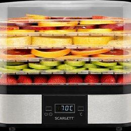Сушилки для овощей, фруктов, грибов - Новая сушилка для овощей и фруктов Scarlett fd421t, 0