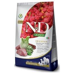 Корма  - Сухой корм Farmina N D Quinoa Dog Digestion Lamb…, 0