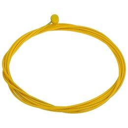 Тросики и рубашки для велосипеда - Трос тормоза Alhonga HJ-10567 Teflon 1,5 мм x 2100 мм, 7x6 цвет жёлтый, 0