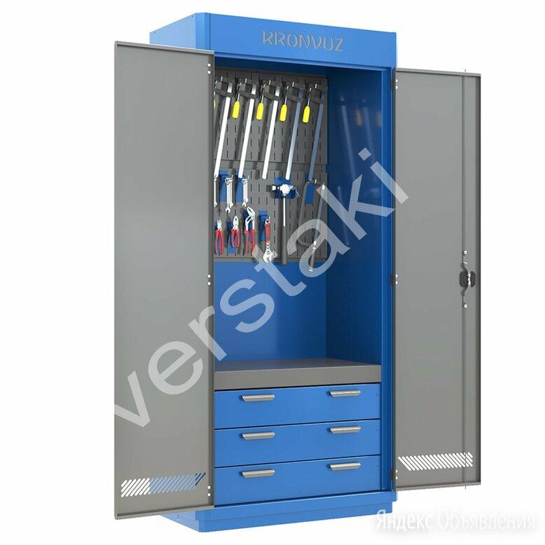 Инструментальный металлический шкаф KronVuz Box 1312 по цене 56000₽ - Шкафы для инструментов, фото 0