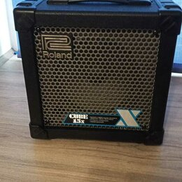 Гитарное усиление - Гитарный Комби Roland Cube 15x. Доставка Торг Обмен, 0