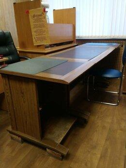 Компьютерные и письменные столы - Американский стол для кабинета, 0