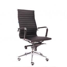 Компьютерные и письменные столы - Кресло Everprof Rio M Кожа Черный, 0