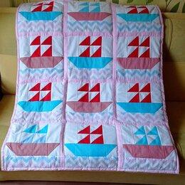 Одеяла - Детское одеяло лоскутное, 0